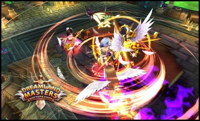 «DreamLand Masters: Майстер Снів» - нова багатокористувацька онлайн-гра для мобільних платформ