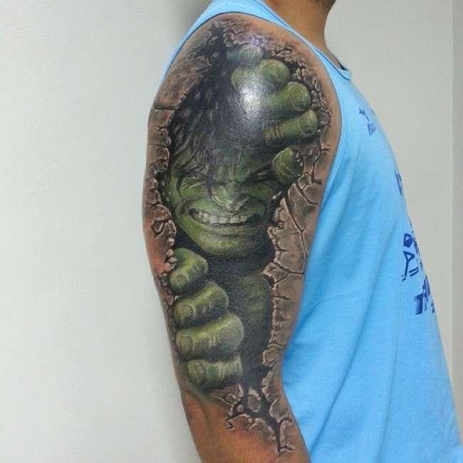Реалістичні 3D татуювання (37 фото)