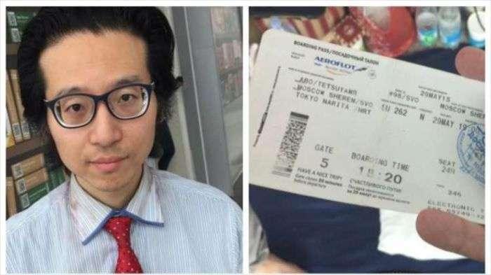 Японський журналіст, що живе з кінця травня в Шереметьєво, обзавівся охороною і обмежив спілкування з пресою (5 фото)