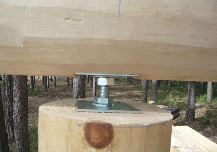 Фотозвіт про будівництво рубаних кедрової лазні (50 фото)