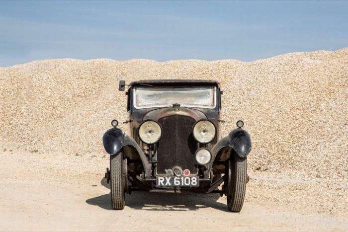 Британець знайшов забутий Bentley 4½, який оцінили в 450 000 доларів (6 фото)