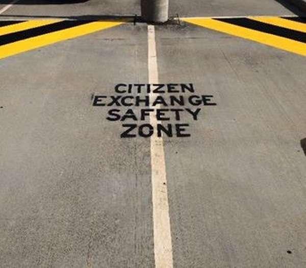 Відмінна ініціатива американської поліції (4 фото)
