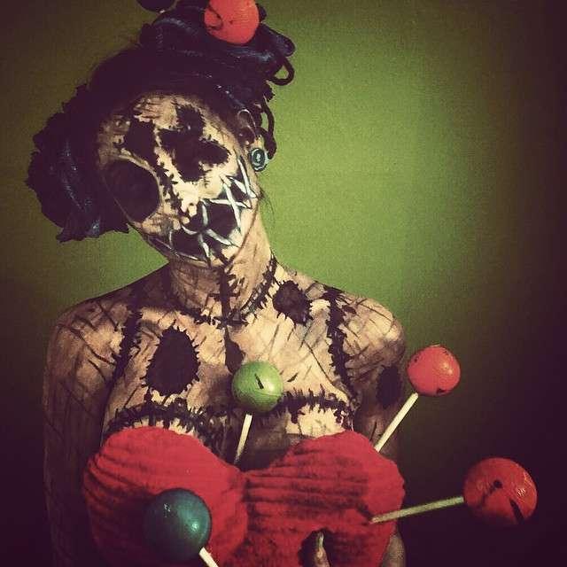 Лякаючий боді-арт від Кору Віллет (16 фото)