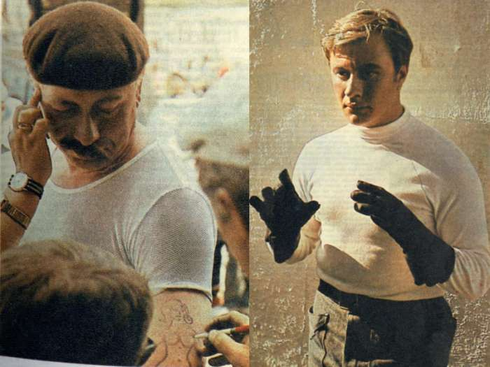 Як проходили зйомки «Діамантової руки» (17 фото)