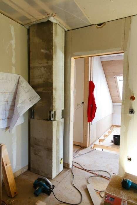 Фотозвіт про будівництво будинку в Німеччині (115 фото)