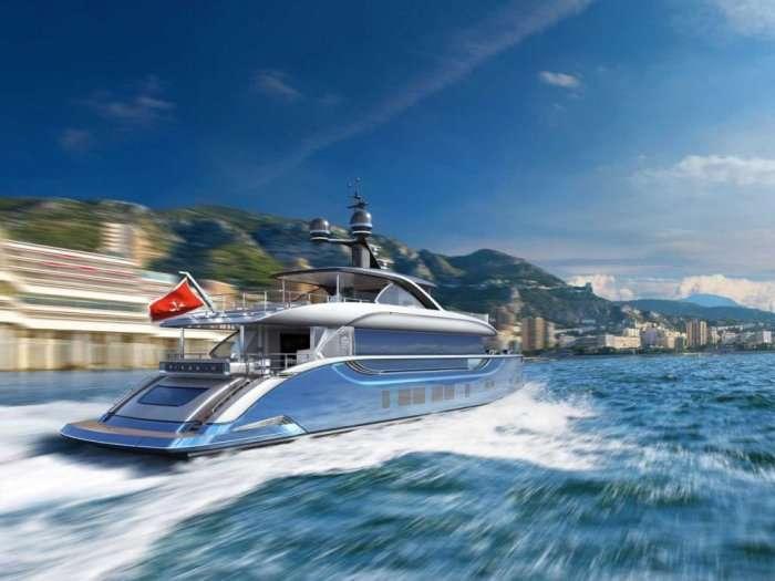 Переміщення яхти вартістю 17 мільйонів євро (11 фото)