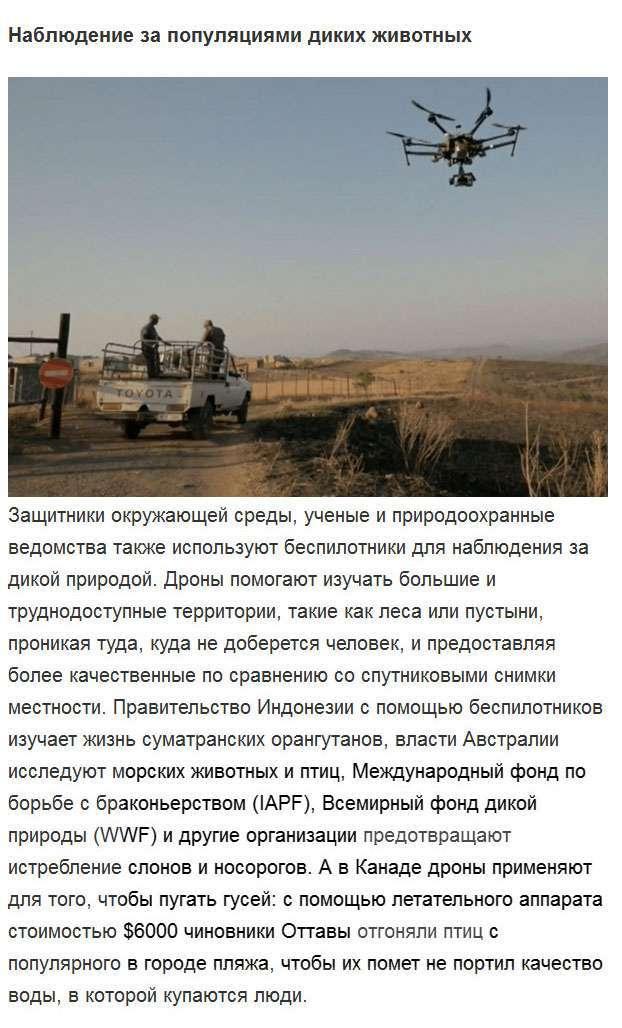 Як дрони допомагають людям (14 фото)