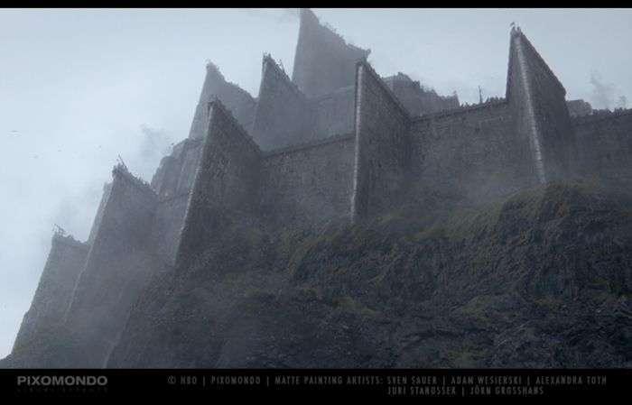Візуальні ефекти серіалу «Гра престолів» (10 фото + відео)