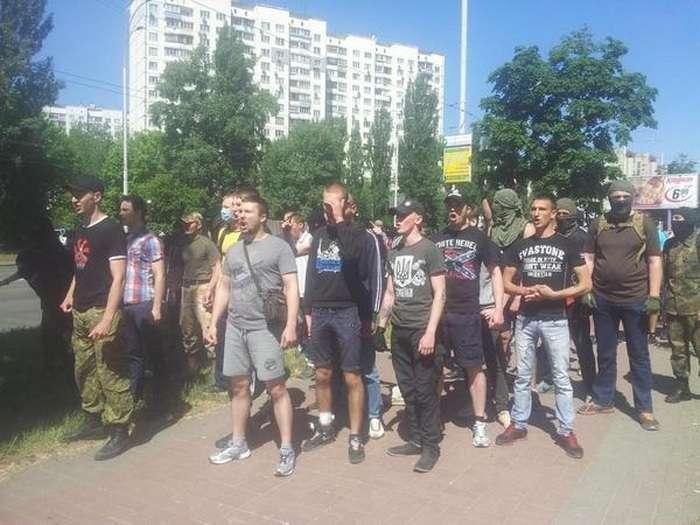 У Києві зірвали гей-парад «Марш рівності» (19 фото)
