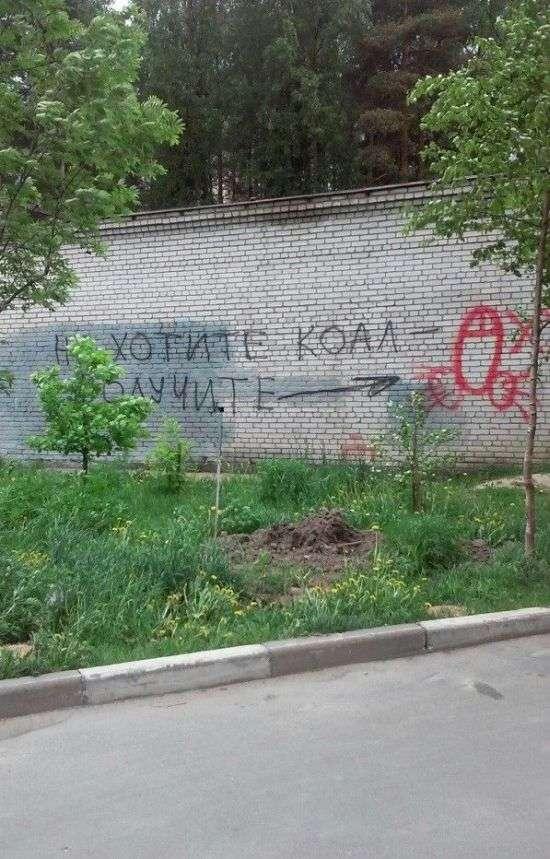 Помста вуличних художників (2 фото)
