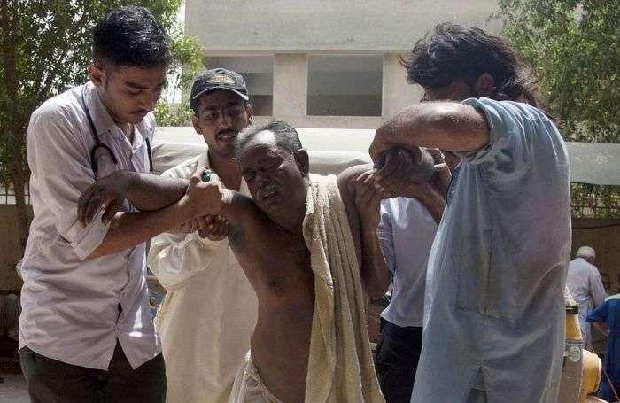У Пакистані через аномальної спеки померло майже 700 осіб (17 фото)