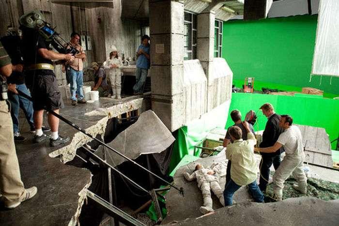 Фото зі знімального майданчика науково-фантастичного трилера «Початок» (26 фото)