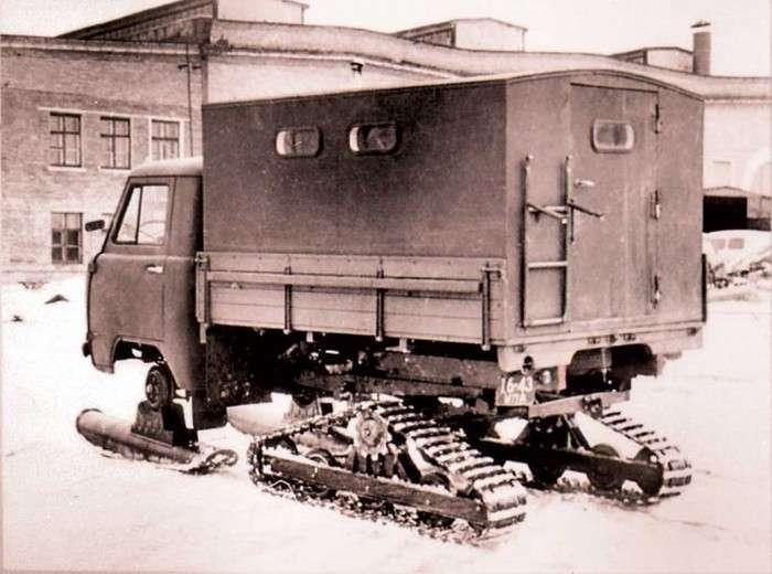 Маловідомі моделі і концепти Ульяновського автомобільного заводу (15 фото)