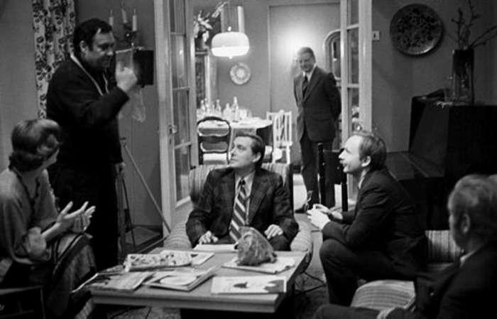 Фото зі знімальних майданчиків улюблених вітчизняних фільмів (46 фото)