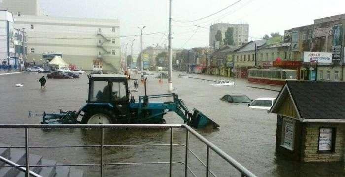 У Курську стався потоп (13 фото + відео)
