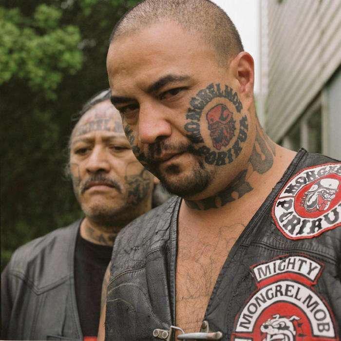 Члени банди Монгрел Моб взяли участь в невеликому фотосеті (18 фото)