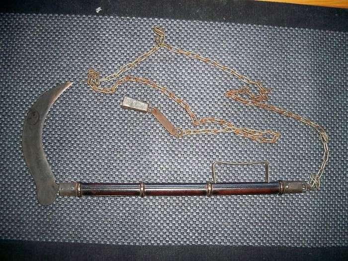 Незвичайне і маловідоме зброю давнину (23 фото)