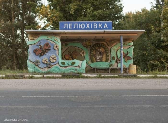 Автобусні зупинки часів СРСР (47 фото)