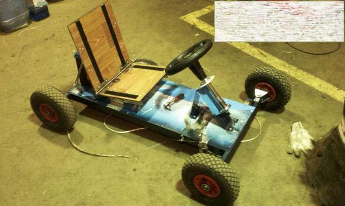 Саморобний дитячий електромобіль (18 фото)