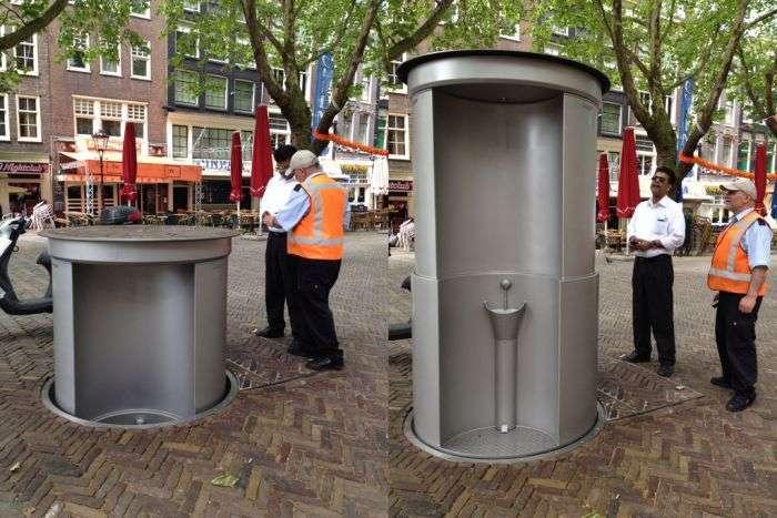 Зникаючі шведські туалети (2 фото)