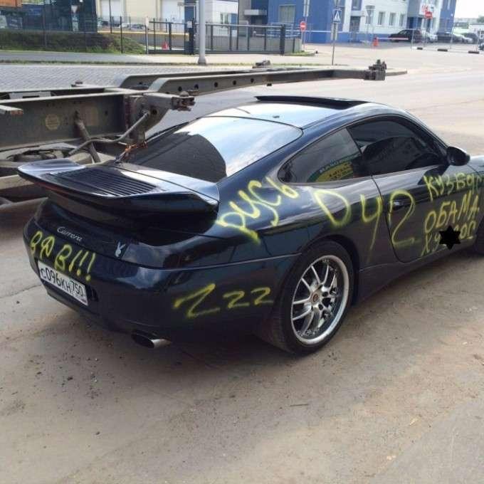 Porsche Carrera в «нецензурній тюнінгу» (2 фото)
