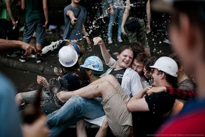Випускники МГТУ імені Баумана відсвяткували закінчення навчання (37 фото)