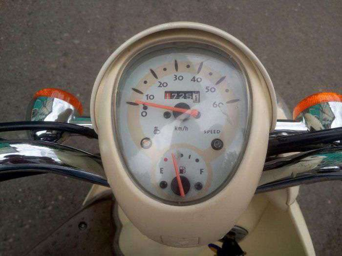 Причина продажу скутера (5 фото)