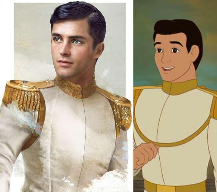 Якими б були принци з діснеївських мультфільмів в реальному житті (8 фото)