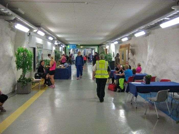 Бомбосховища у Фінляндії (10 фото)