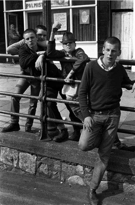 Британські скінхеди початку 80-х (31 фото)