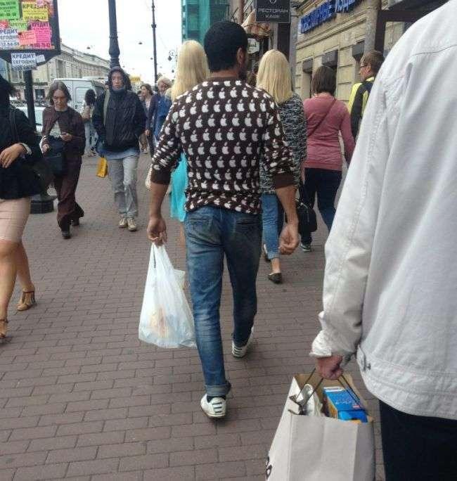 Модники з вулиць Санкт-Петербурга (40 фото)