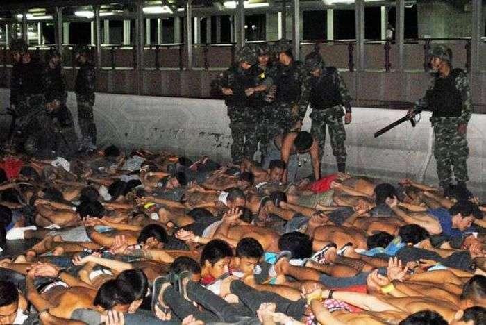 Поліція Таїланду затримала 425 нелегальних гонщиків (7 фото)