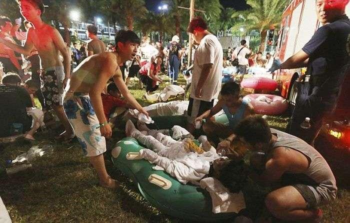 Жертвами пожежі і вибуху на дискотеці в Тайвані стали понад 500 людей (12 фото + відео)