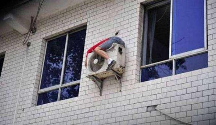 Люди, не знайомі з технікою безпеки (35 фото)
