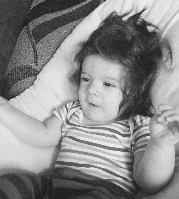 Дрібненькі діти з густою шевелюрою (25 фото)