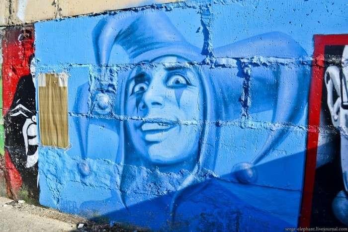 Відомі особистості у виконанні вуличних художників (28 фото)