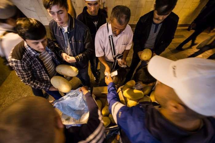 Мусульмани Москви відзначили закінчення Рамадана (47 фото)