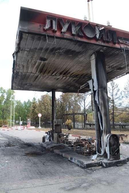 У Пензі вибухнула автозаправка (2 фото + відео)