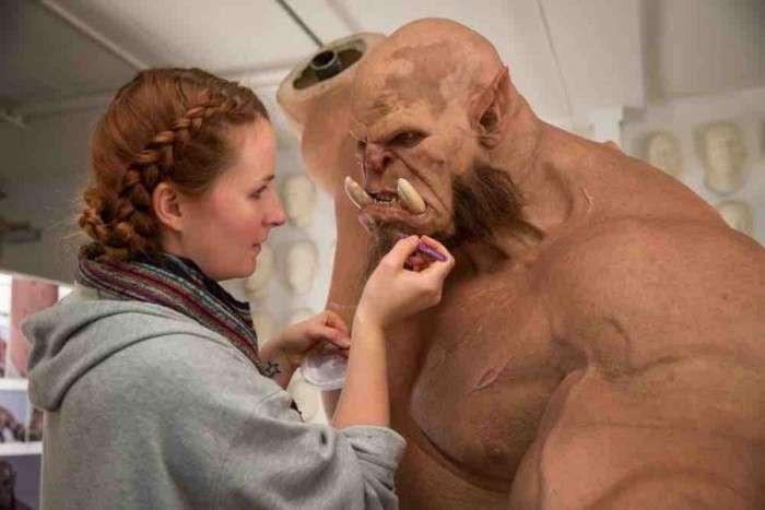 Як створюються персонажі фільму Warcraft (4 фото)