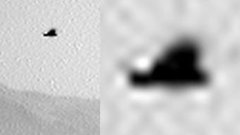 Марсоход сфотографировал марсианскую «птицу» Тайны и мифы