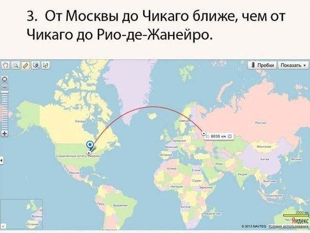 Россия в интересных фактах Интересное