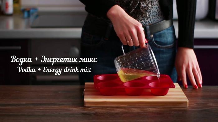 Желейные шоты своими руками спиртное