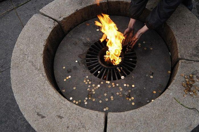 Происшествие у Вечного огня Интересное