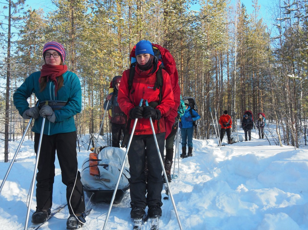 Учебно-тренировочные сборы перед Большой Арктической Экспедицией