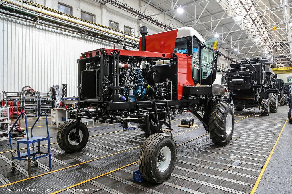 Сколько тракторов произвела Россия в прошлом году МАШИНОСТРОЕНИЕ