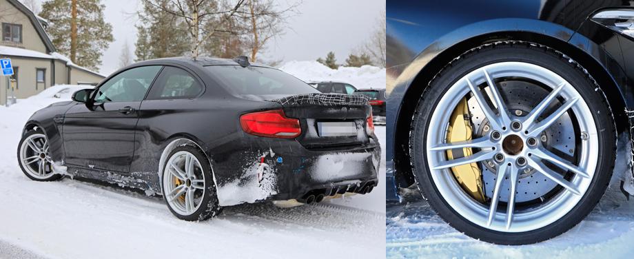 Купе BMW M2 CS получит лёгкий кузов и усиленные тормоза авто,мото,техника, Авто и мото