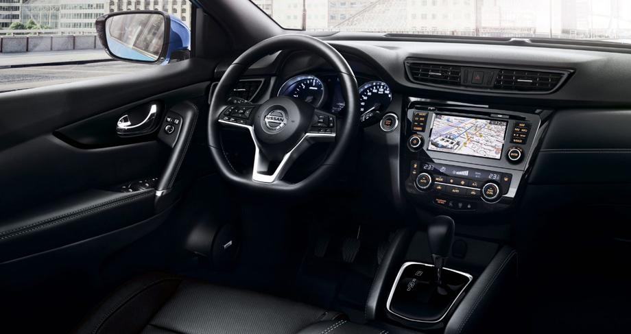 Кроссовер Nissan Qashqai улучшил комплектации после обновления авто,мото,техника, Авто и мото