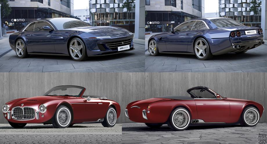 Родстер Ares Panther Spyder выйдет в свет уже в нынешнем году авто,мото,техника, Авто и мото