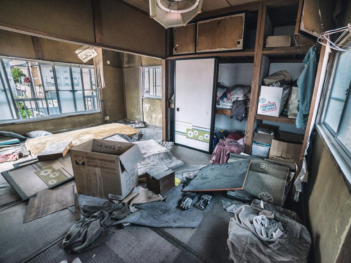После ядерного апокалипсиса, или как выглядят окрестности АЭС «Фукусима» катастрофа
