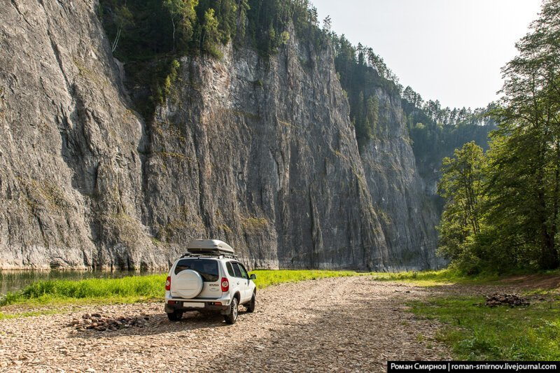 Урал с Севера на Юг. Скалы Мамбет и Кузьганак на реке Зилим путеествия, Путешествие и отдых